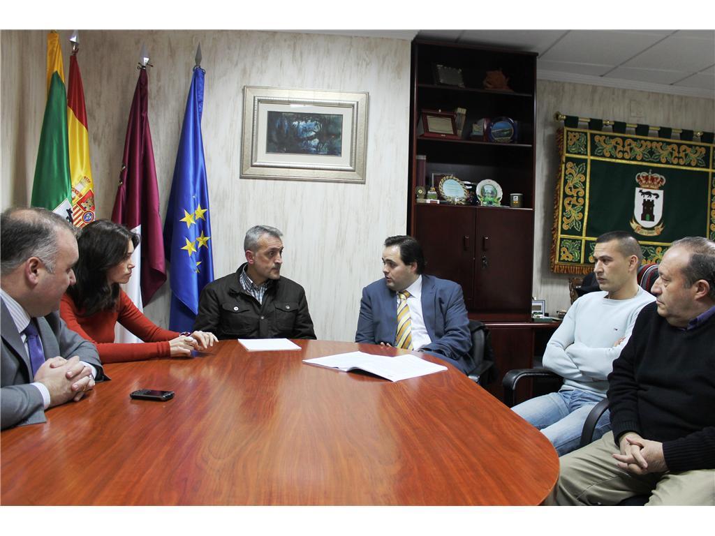 Visita de Francisco Núñez, Presidente de la Diputación de Albacete