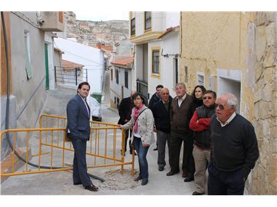 El presidente de la Diputación anuncia que toda la inversión del POS de La Recueja será para reparar la red de agua