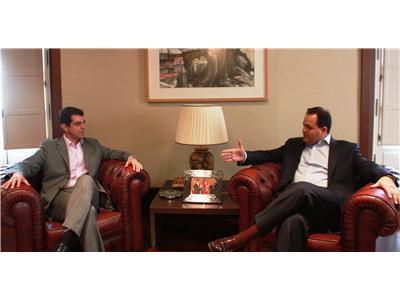 El presidente de la Diputación y el delegado de la Junta ultiman los detalles de un programa de apoyo a municipios de la provincia