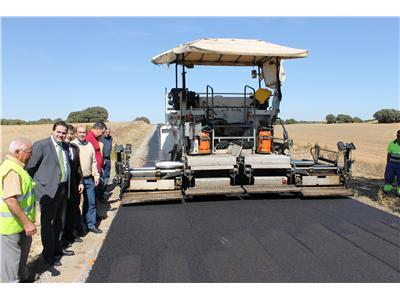 La Diputación comienza las obras de mejora en las carreteras provinciales, con una inversión total de 2,1 millones de €