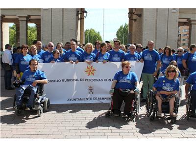 La Diputación participa en el Día de la Discapacidad y reitera su compromiso con todo el movimiento asociativo