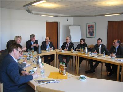 Félix Diego Peñarrubia, en la comisión de Educación que viajó a Alemania para analizar su sistema de FP Dual
