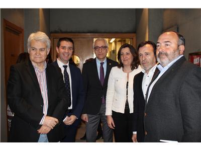 Santiago Cabañero resalta la importancia de la concertación social para hacer frente a la lacra del desempleo