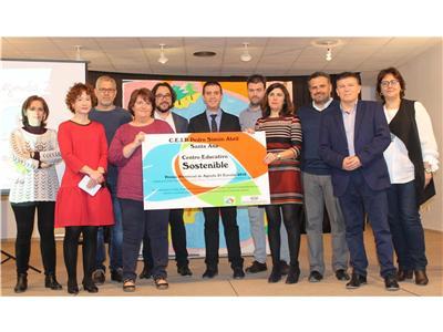 El colegio público Simón Abril de Santa Ana recibe el Premio de la Agenda 21 Escolar