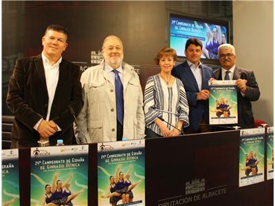 Albacete será sede del XXIV  Campeonato de España de Gimnasia Rítmica para personas con discapacidad intelectual