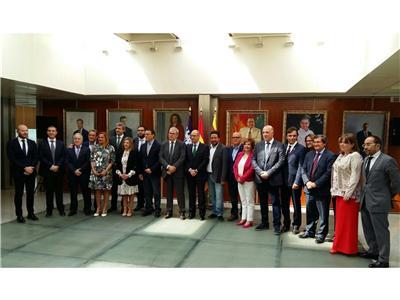 Cabañero asiste en Ibiza al encuentro de presidentes de gobiernos provinciales
