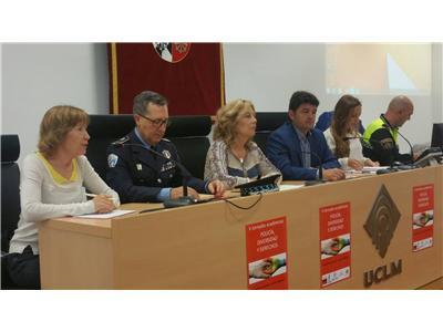 La diputada provincial de Igualdad, Nieves García, abrió las V Jornadas Académicas: Policía-Diversidad-Derechos.