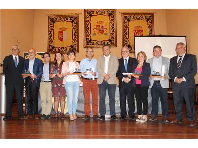 """Entrega de la primera edición de los premios """"Excelencia Vinos de Albacete 2017"""", organizado por el Colegio de Enólogos de Castilla-La Mancha"""