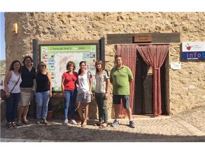 La Diputación traslada a través de sus diputadas su campaña de promoción turística en la Sierra del Segura
