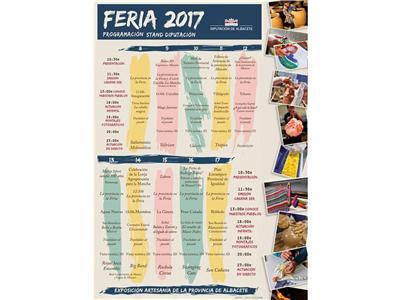 La Diputación participa en la organización de más de 80 actos de la próxima Feria de Albacete