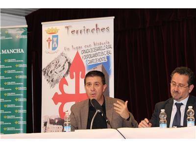 El presidente de la Diputación, Santiago Cabañero, reclama mayor financiación municipal del Gobierno Central contra la despoblación en el medio rural