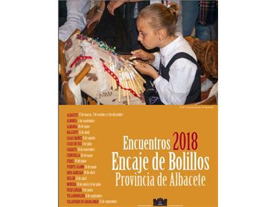 El próximo sábado se celebrará en Albacete el I Encuentro de Bolilleras de los XVIII que tendrán lugar este año en la provincia