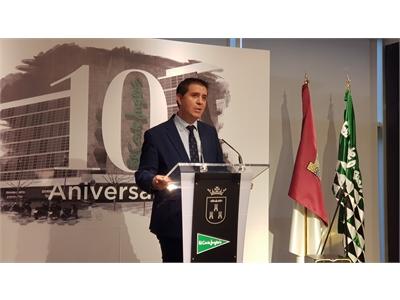 El presidente de la Diputación agradece el ejercicio de responsabilidad corporativa de El Corte Inglés en Albacete