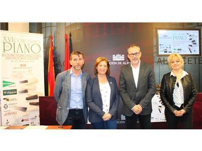 Presentado el XVI Concurso de Piano Diputación de Albacete