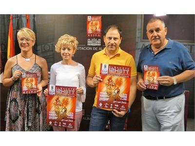 La Diputación acoge la presentación de la II 12 horas BTT que Hoya Gonzalo vivirá, con novedades, el 18 de agosto a beneficio de ACEPAIN