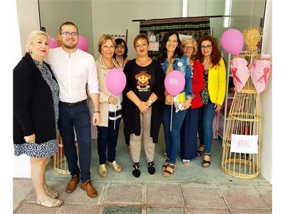 Las diputadas provinciales Raquel Ruiz y Nieves García visitan varios stands de Asociaciones y colectivos presentes en el Recinto Ferial de Albacete