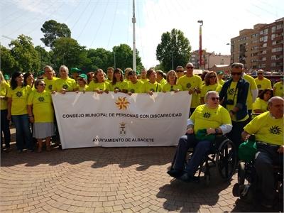 La Diputación de Albacete se suma a la fiesta del Día de la Discapacidad en la Feria 2018