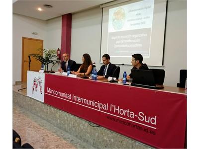 Alberto González presenta en Valencia Sedipualb@, la plataforma que ha hecho  ha hecho a la insitución provincial líder en e.adminsitración