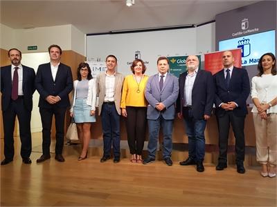 Cabañero asegura que la próxima III edición de la Feria IMEX C-LM que se celebrará en Albacete debe ser un escaparate para empresas y Ayuntamientos