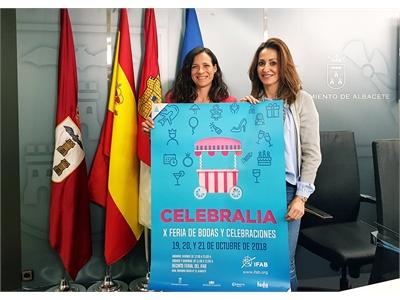 Raquel Ruiz subraya que el éxito de Celebralia se debe a que la Feria ha sabido evolucionar con las demandas del sector