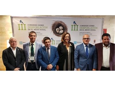 Cabañero pide una Ley que considere las especificidades del Medio Rural y se suma a la petición de un Pacto de Estado contra la despoblación