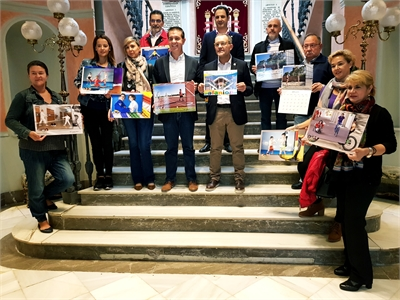 El calendario de AFANION para 2019, editado un año más por Diputación, nos lleva 'Camino a las Olimpiadas'