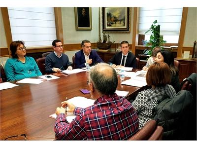 Cabañero preside una nueva reunión de la Mesa de Desarrollo Rural de la Provincia en su compromiso de reunir herramientas contra el Despoblamiento