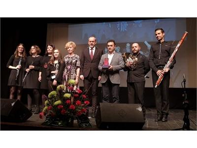 La Gala Provincial de la Música premia a las escuelas municipales de Madrigueras y Villarrobledo