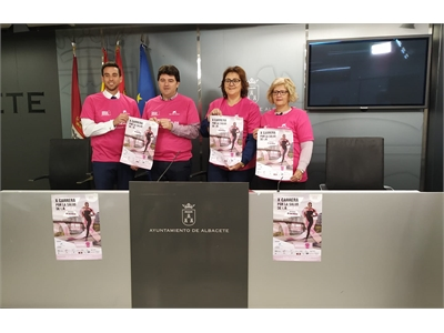 Las calles de Albacete volverán a teñirse de rosa con motivo de la X Carrera por la Salud de la Mujer Memorial María José Merlos