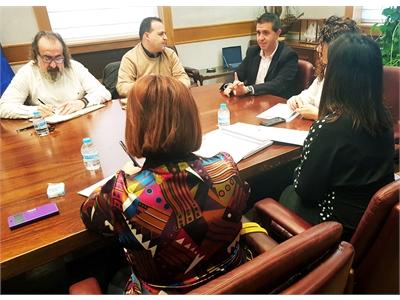 Cabañero analiza con los Grupos de Acción Local las ayudas europeas para afrontar el reto demográfico en los municipios de menor población