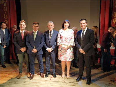 Santiago Cabañero pone en valor la política municipal en el acto conmemorativo del 40 aniversario de la Constitución celebrado en Balazote
