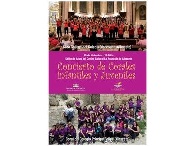 El II Concierto de Corales Infantiles y Juveniles de Albacete llega este sábado a La Asunción