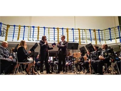 Santiago Cabañero asiste en Alatoz al I Encuentro Provincial de Bandas de Música