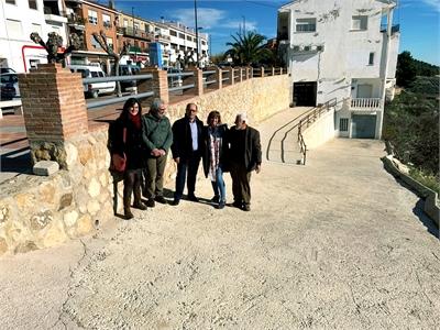 La población de Yeste ya disfruta de los resultados de dos necesarias obras acometidas con cargo al POS de la Diputación de Albacete