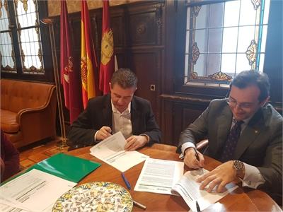 La Diputación firma créditos por valor de 69 millones de euros para facilitar a los ayuntamientos de la provincia el pago de impuestos