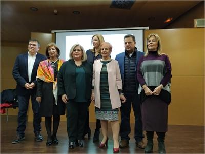 Nieves García aboga porque la ciudadanía se implique en la defensa de los DDHH, durante el acto de conmemoración del 70 aniversario de su declaración
