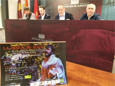 Alberto González subraya el valor que La Pasión de Jesús tiene para la dinamización turística y cultural de Chinchilla de Montearagón