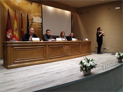 La Diputación provincial abre sus puertas a las XIV Jornadas Sociales sobre Elaboración del Duelo