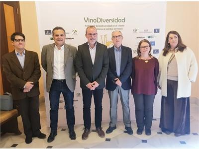 Alberto González subraya el compromiso de un sector referente como el vitivinícola con la Sostenibilidad y el Cambio Climático