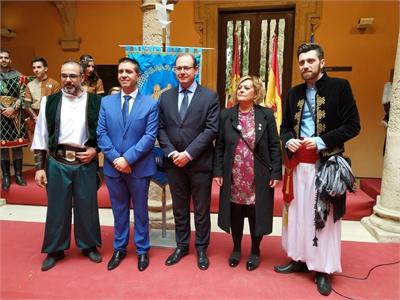 Cabañero se muestra convencido de que las Fiestas de Moros y Cristianos de Almansa conquistarán la Internacionalidad