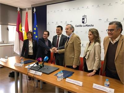 Importante convenio entre el Instituto Regional de Investigación y desarrollo Agroalimentario y Forestal de C-LM (IRIAF) y el ITAP