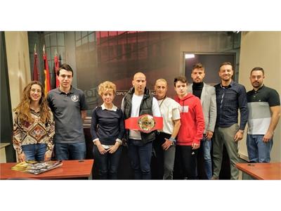 El cinturón nacional de Muay Thai, categoría wélter, se lucha en Albacete gracias al apoyo de la Diputación provincial