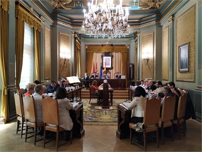 El Pleno de la Diputación da continuidad a 18 convenios con diferentes asociaciones y entidades de la provincia