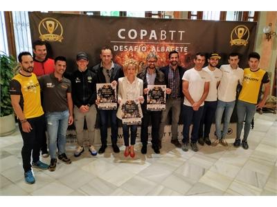 Leal destaca el crecimiento de la Copa BTT Desafío Albacete, prueba que contará con participantes de cinco autonomías