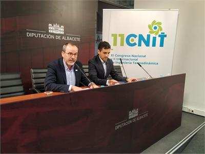 El XI Congreso Nacional y II Internacional de Ingeniería Termodinámica se presenta al público en la Diputación provincial de Albacete