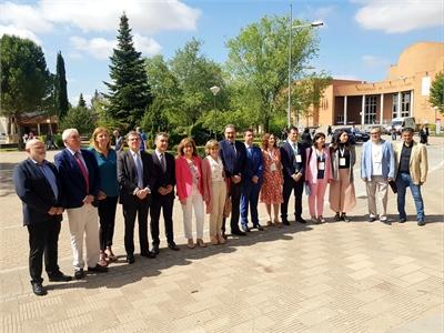 Cabañero asiste junto a la ministra Carcedo a las XXXIX Jornadas que la Asociación de Economía de la Salud celebra en  el Campus de Albacete