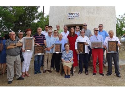 El diputado Daniel Sancha acude a la cita que cada primer sábado de julio Munera tiene con el Concurso Literario del Molino de la Bella Quiteria