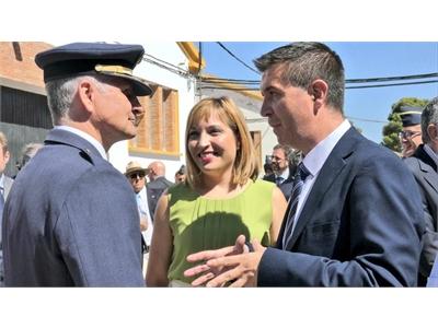 Cabañero elogia el papel referente que para el Ejército del Aire tiene la Maestranza albaceteña que, este martes, ha celebrado su Relevo de Mando