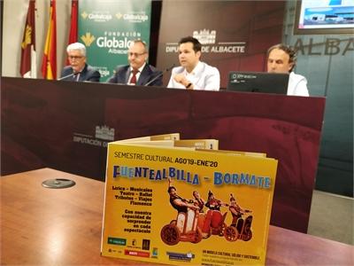 """Miguel Zamora subraya la importancia del modelo cultural de Fuentealbilla """"porque permite acercar la Cultura a los municipios de La Manchuela"""""""