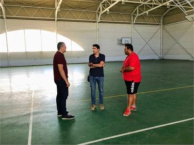 Sancha se afana por conocer las demandas de los municipios que concurren al programa de subvenciones para el fomento de la actividad deportiva